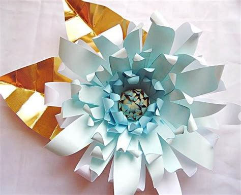 Giant Diy Paper Flower Templates With Instructions- Paper