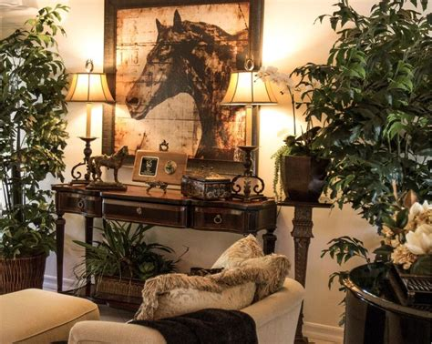 Equestrian Decor Ideas Country Chic Hors On Gorgeous Grey