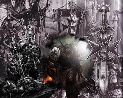 40k Templars Warhammer Space Templar Marine Wallpapers