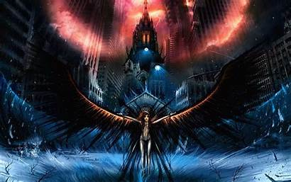 Dark Fantasy Angel Wallpapers Anime Amazing Apocalyptic