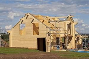 Maison En Bois Construction : la construction d une maison en bois ~ Melissatoandfro.com Idées de Décoration