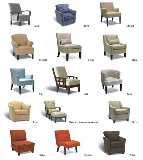 12 Types of Chairs for Your Different Rooms Types of