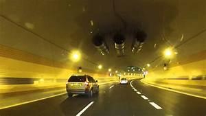 Průjezd tunelem blanka