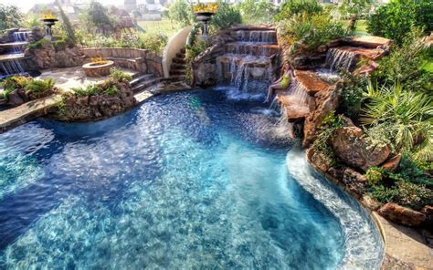 Really Cool Backyards by 1000 Images About Really Cool Pools On
