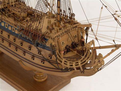 detail views  ship model soleil royal