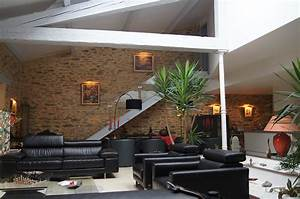 agencement interieur yannick bernard entreprise With mur en pierre apparente interieur
