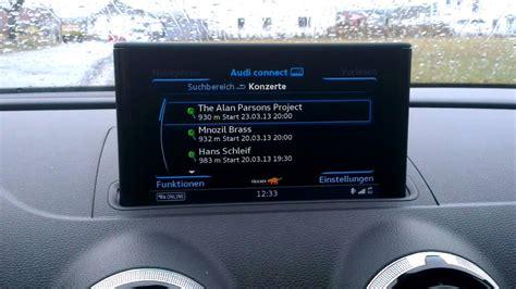 Audi Connect by Audi A3 Sportback Mmi Navigation Plus Mmi Touch Audi