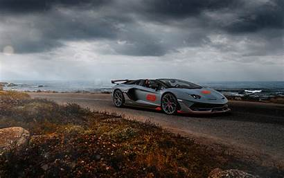 Svj Lamborghini Aventador 63 Roadster 5k Wallpapers