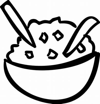 Rice Bowl Icon Clipart Svg Vector Icons