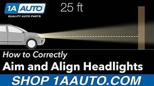 Headlight Aiming Wall Chart