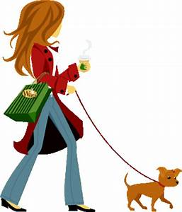 Girl Walking Doggif - ClipArt Best - ClipArt Best