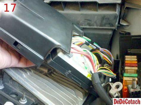 remplacement des fusibles du compartiment moteur renault
