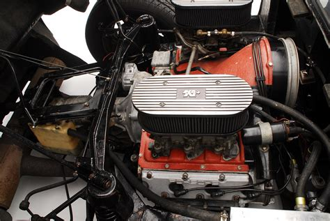 photo 1964 porsche 904 engine compartment view 1964