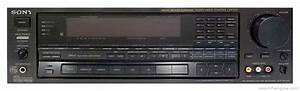 Sony Str-av1020 - Manual - Am  Fm Stereo Receiver