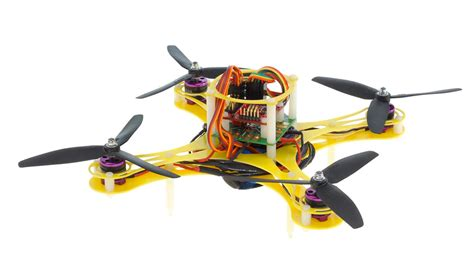mini fly quadcopter drone arf  mwc board brushless motor  esc yellow rc remote control radio