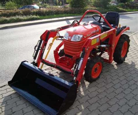 kleintraktoren gebraucht ebay kleintraktor allrad traktor kubota b1620 16 0ps neu frontlader neu ebay