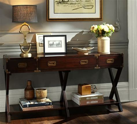 pottery barn sofa table pottery barn winter warehouse save 60 on furniture