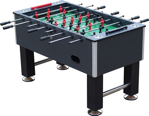 tournament choice foosball table 26 25 quot charcoal playcraft pitch foosball table