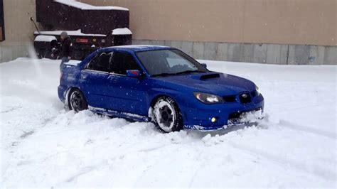 subaru snow subaru wrx snow tires really work youtube