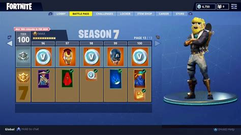 Fortnite Season 7 Leaked! (season 7 Skins)