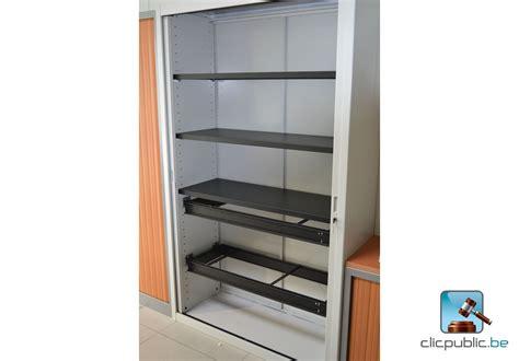rideau bureau armoire de bureau à rideau à vendre sur clicpublic be