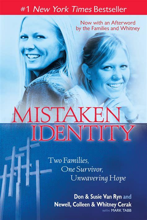 mistaken identity mistaken identity book by don susie ryn newell