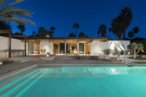 A Mid Century Desert Oasis In Palm Springs a mid century desert oasis in palm springs