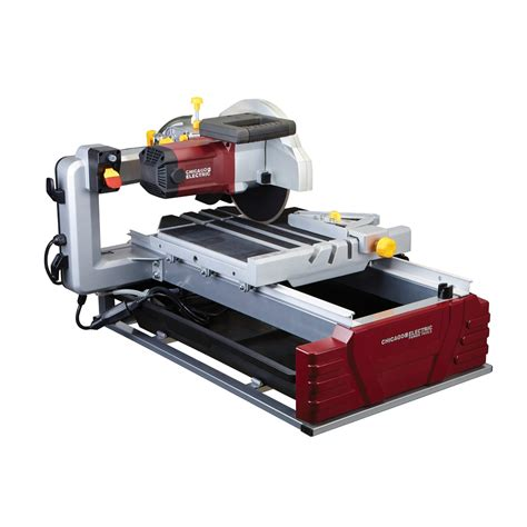 harbor freight tile saw 10 10 in 2 5 hp tile brick saw