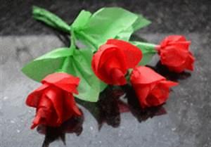 Rosen Aus Servietten Basteln : blumen basteln blumen aus verschiedenem material basteln ~ Frokenaadalensverden.com Haus und Dekorationen