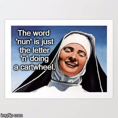 Nun Memes - laughing nun imgflip
