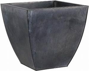 Cache Pot Noir : cache pot en zinc noir lot de 3 ~ Teatrodelosmanantiales.com Idées de Décoration
