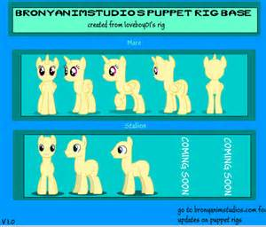 cs6 design premium mlp pony puppet rig base make your own puppets by bronyanimstudios on deviantart