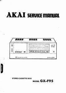 Akai Gx-f95
