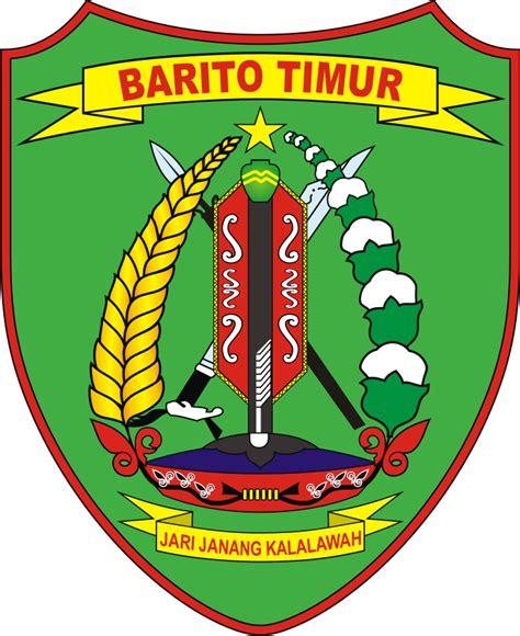 logo kabupaten barito timur kumpulan logo lambang indonesia