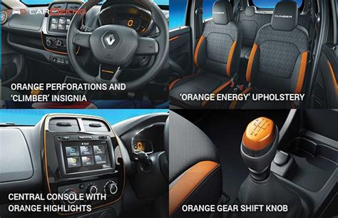 renault climber interior renault kwid climber launched at rs 4 30 lakh