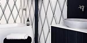 Salle De Bain Noire Et Blanche : salle de bains noire et blanche le duo gagnant marie ~ Melissatoandfro.com Idées de Décoration