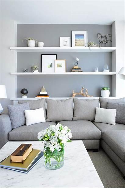 Living Scandinavian Decor Rooms Shelves Wall Shelf