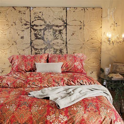 boho duvet covers boho paisley print luxury duvet quilt cover and shams 3pc