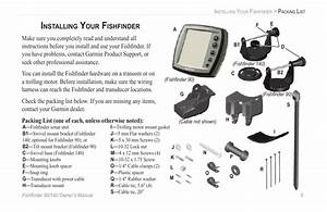 Installing Your Fishfinder  Installing Your Fish Ufb01nder