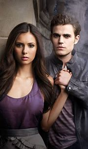 Elena Reunites With Stefan in New BTS Pic From