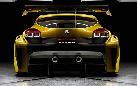 Renault Megane Trophy Back Wallpaper
