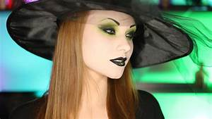 Pretty Witch Makeup Tutorial - YouTube