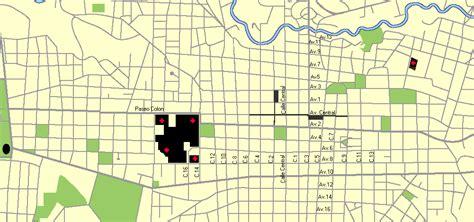 sjsu cus map downtown san jose station san jose and