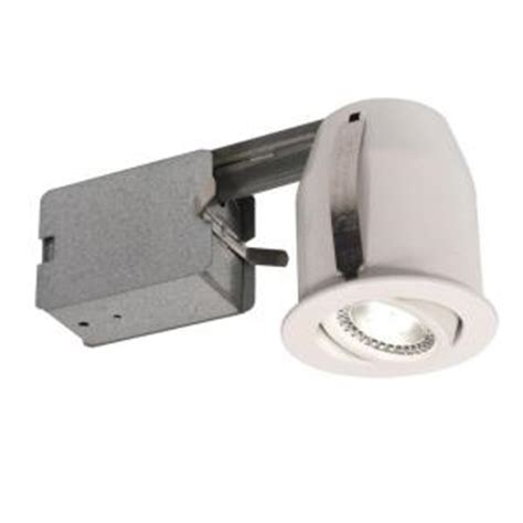 bazz 3 in white recessed led lighting fixture 303l5w