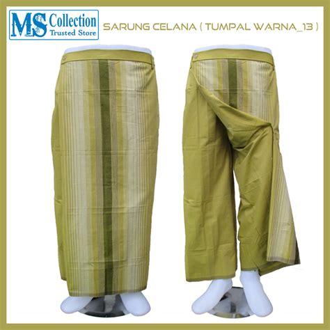 sarung celana tumpal warna 13 ms collection