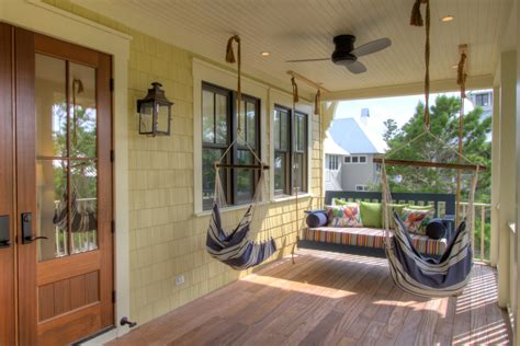 How To Hang A Hammock On A Porch by Hammock Chair Swingin Porch Style With