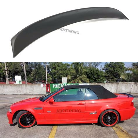 bmw  csl style performance rear boot trunk spoiler