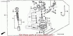 Honda Xr100r 2000  Y  Canada Ref Carburetor