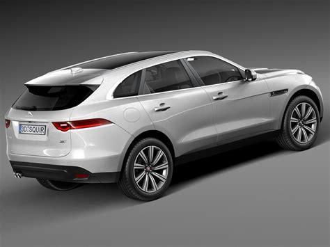 Jaguar F Pace 2017 3d Model Max Obj 3ds Fbx C4d Lwo Lw Lws