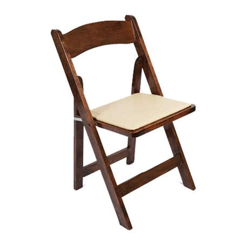 fruitwood folding chairs rental wedding rentals